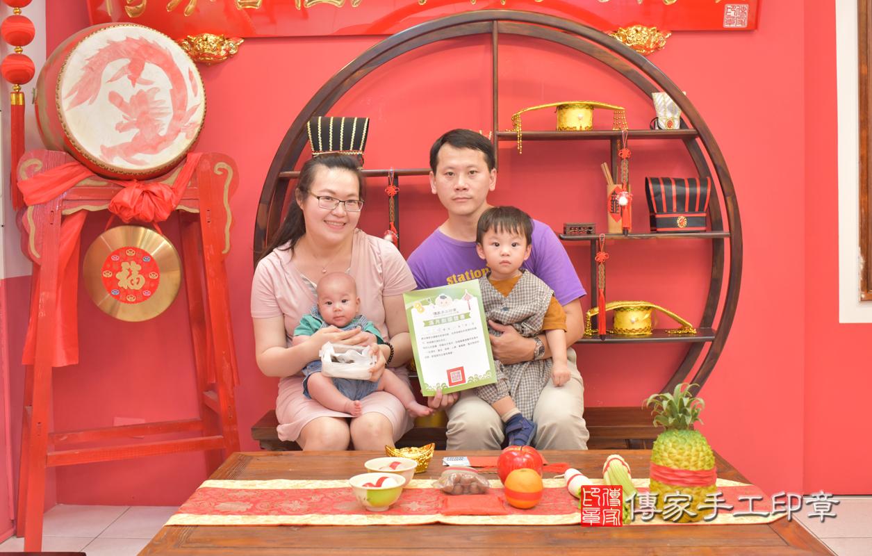 賴寶寶(台中市嬰兒寶寶滿月剃頭理髮、嬰兒剃胎毛儀式吉祥話)。中國風 .....照:10