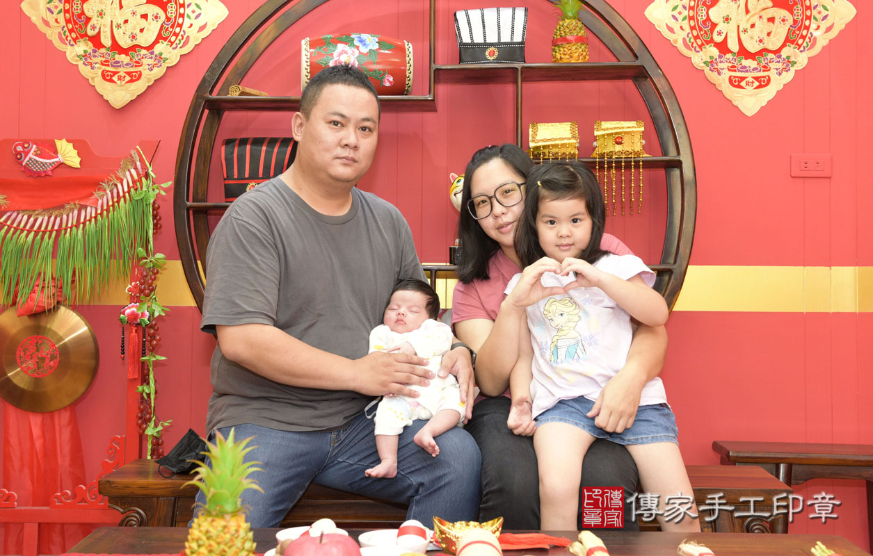李寶寶(桃園市八德區嬰兒寶寶滿月剃頭理髮、嬰兒剃胎毛儀式吉祥話)。 .....照:14