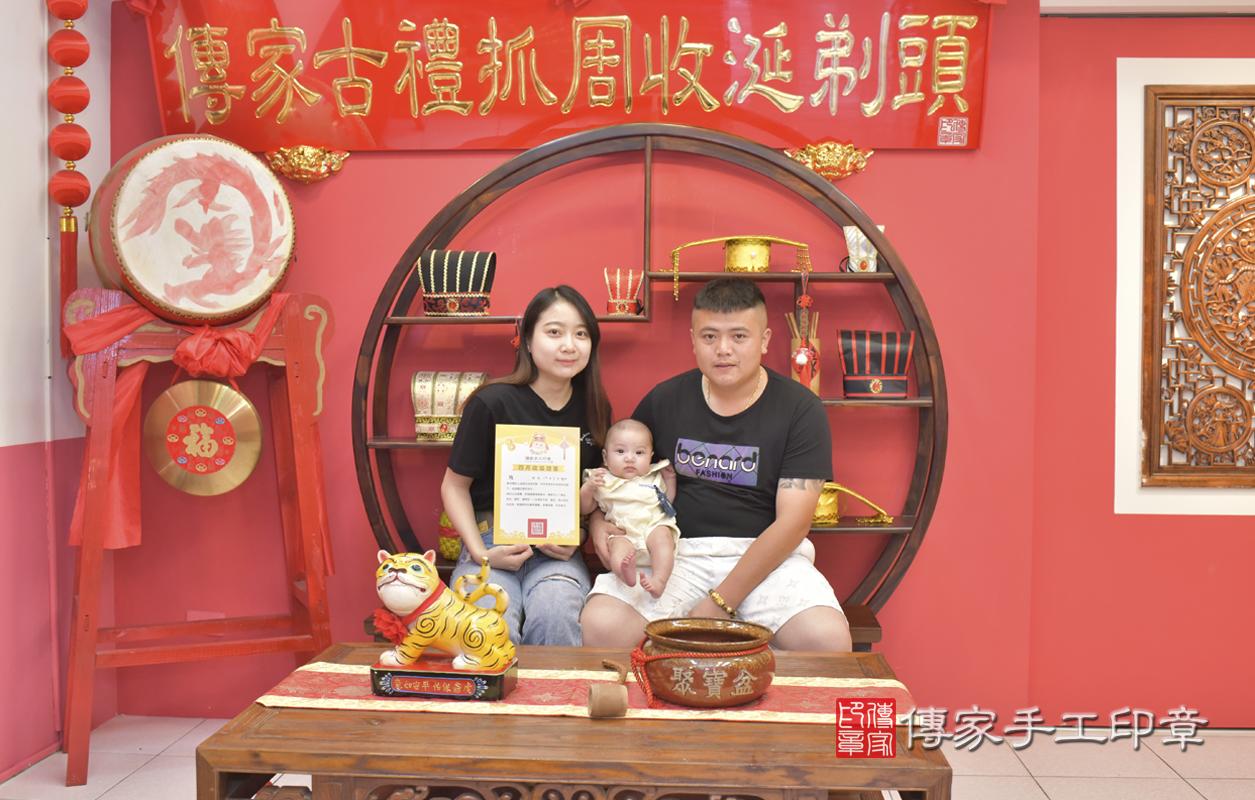 台中市北區賴寶寶收涎推薦:傳家台中店收涎中國風會場,嬰兒古禮收涎收 .....照:3