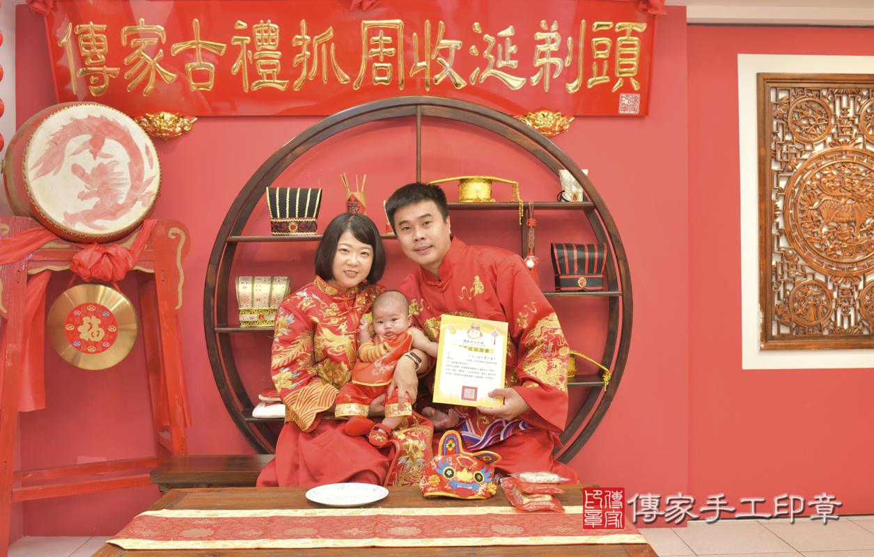 台中市北區賴寶寶收涎推薦:傳家台中店收涎中國風會場,嬰兒古禮收涎收 .....照:2
