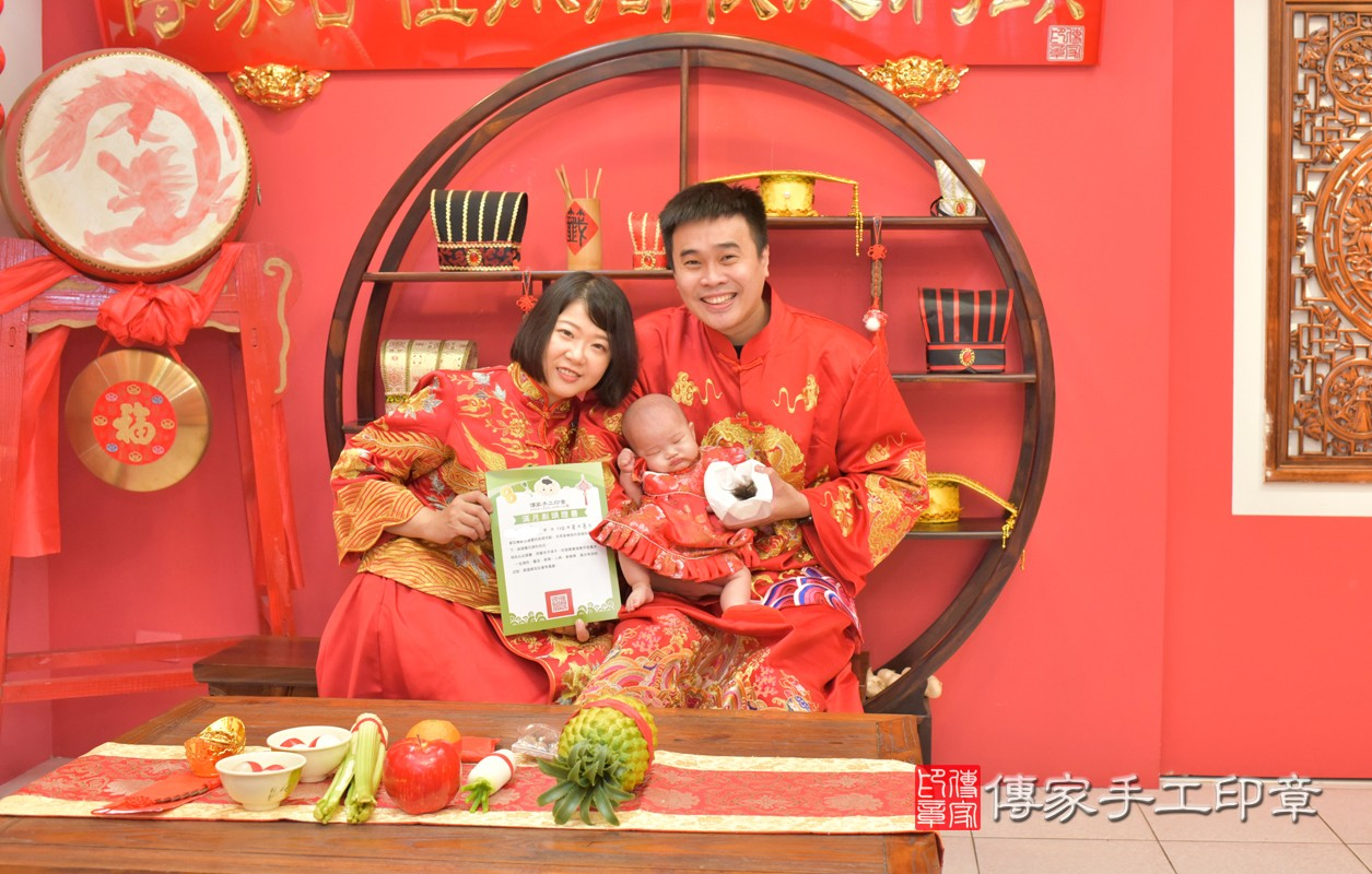 邱寶寶(台中市嬰兒寶寶滿月剃頭 .....照:2