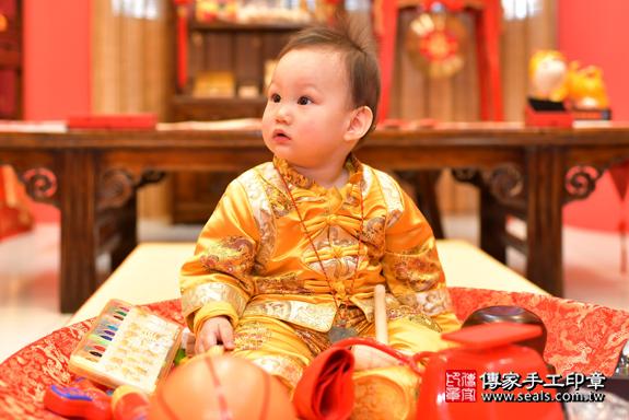 鳳山區楊寶寶古禮抓周:周歲抓周活動和儀式,一切圓滿。照片18
