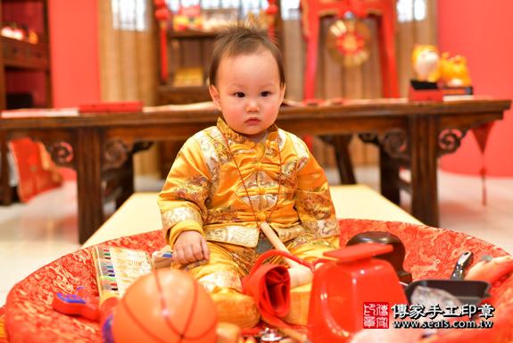鳳山區楊寶寶古禮抓周:周歲抓周活動和儀式,一切圓滿。照片20