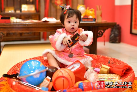 鳳山區吳寶寶古禮抓周:周歲抓周活動和儀式,一切圓滿。照片30
