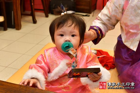 鳳山區吳寶寶古禮抓周:周歲抓周活動和儀式,一切圓滿。照片29