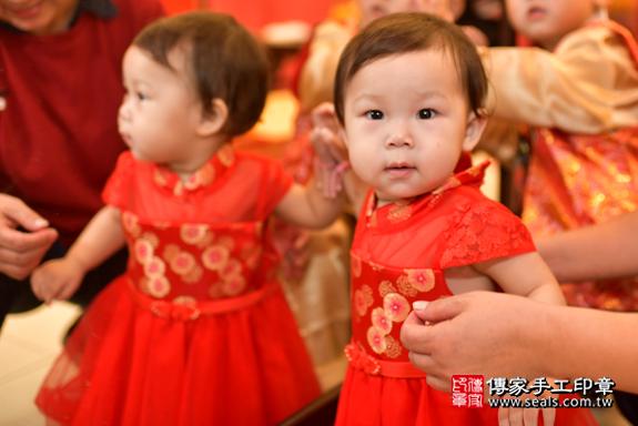 鳳山區陳寶寶古禮抓周:周歲抓周活動和儀式,一切圓滿。照片21