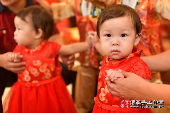 鳳山區陳寶寶古禮抓周:周歲抓周活動和儀式,一切圓滿。照片22