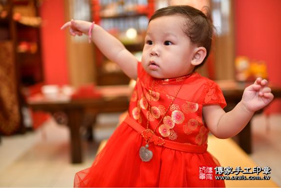鳳山區陳寶寶古禮抓周:周歲抓周活動和儀式,一切圓滿。照片25