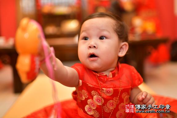 鳳山區陳寶寶古禮抓周:周歲抓周活動和儀式,一切圓滿。照片26
