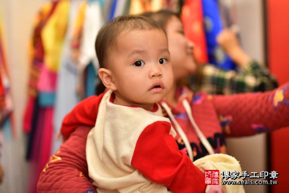 鳳山區梁寶寶古禮抓周:周歲抓周活動和儀式,一切圓滿。照片29