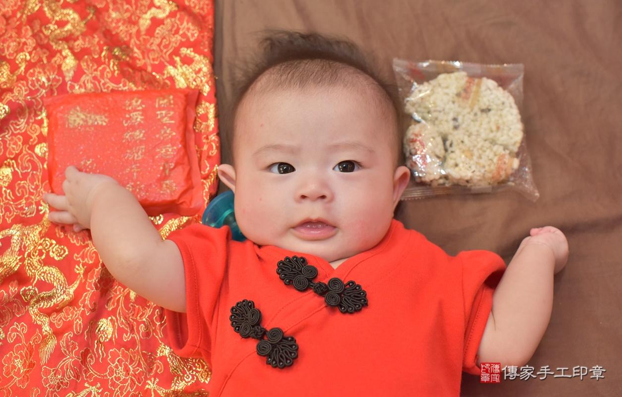台中市北區郭寶寶古禮收涎祝福活動。2020.12.23 照片2