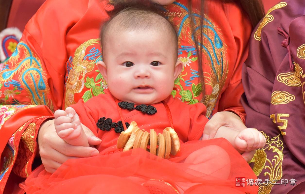 台中市北區郭寶寶古禮收涎祝福活動。2020.12.23 照片24