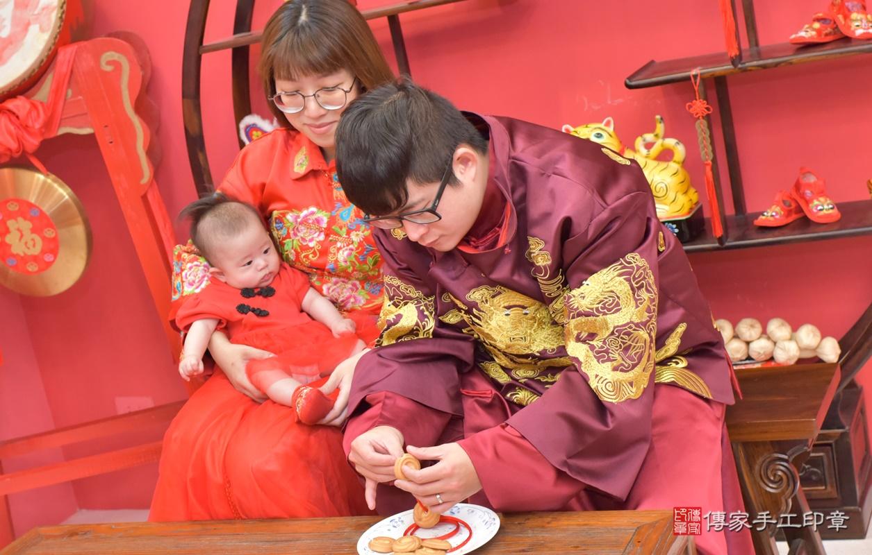 台中市北區郭寶寶古禮收涎祝福活動。2020.12.23 照片26
