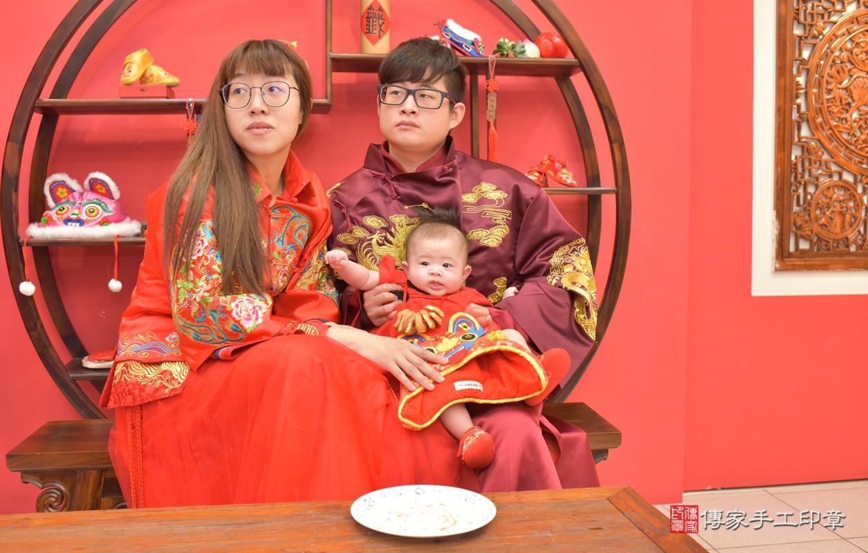 台中市北區郭寶寶古禮收涎祝福活動。2020.12.23 照片28