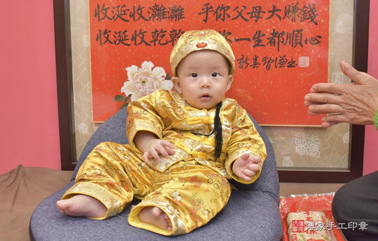 台中市北區白寶寶古禮收涎祝福活動。2020.12.19 照片1