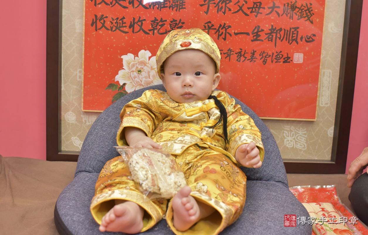 台中市北區白寶寶古禮收涎祝福活動。2020.12.19 照片2
