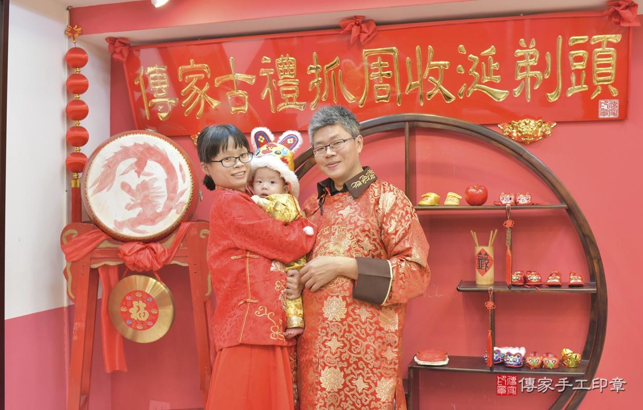台中市北區白寶寶古禮收涎祝福活動。2020.12.19 照片6