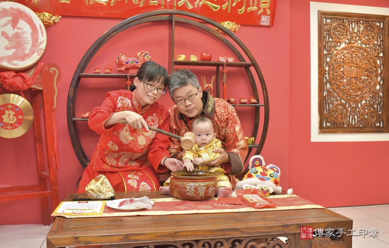 台中市北區白寶寶古禮收涎祝福活動。2020.12.19 照片7