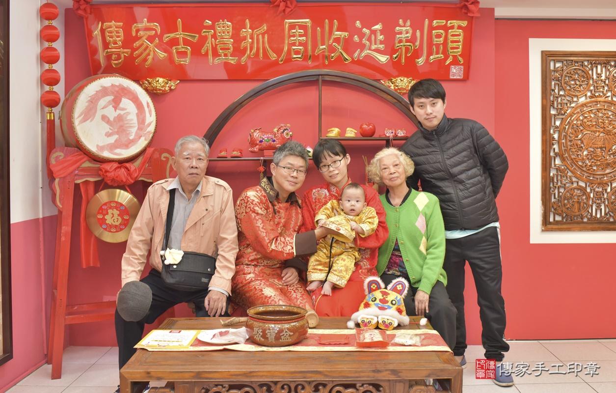 台中市北區白寶寶古禮收涎祝福活動。2020.12.19 照片9