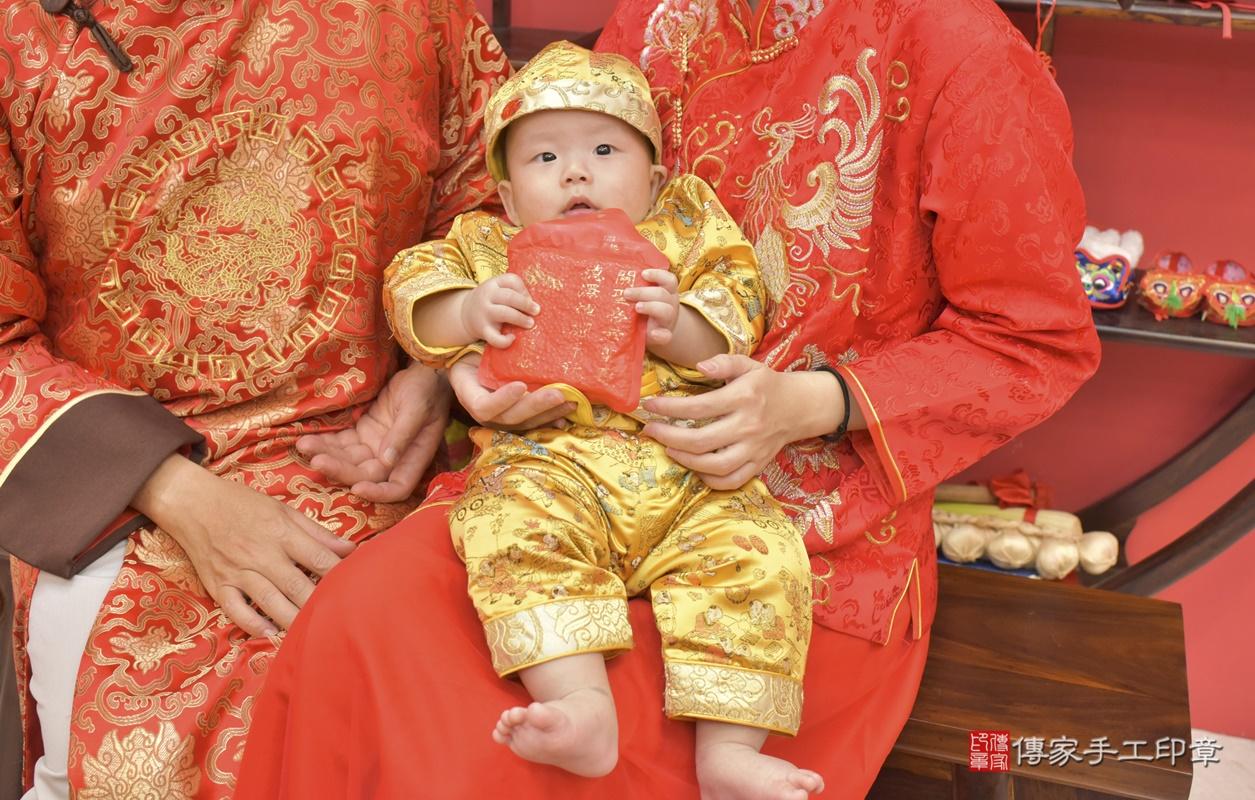 台中市北區白寶寶古禮收涎祝福活動。2020.12.19 照片11