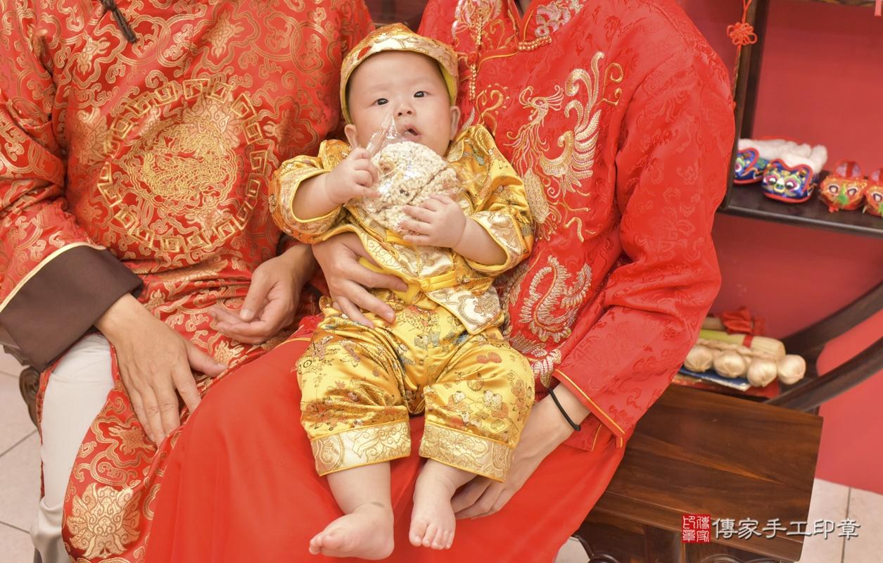 台中市北區白寶寶古禮收涎祝福活動。2020.12.19 照片13