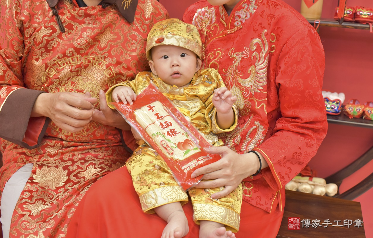 台中市北區白寶寶古禮收涎祝福活動。2020.12.19 照片15