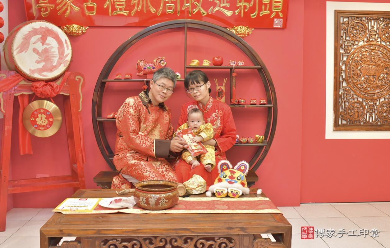 台中市北區白寶寶古禮收涎祝福活動。2020.12.19 照片14