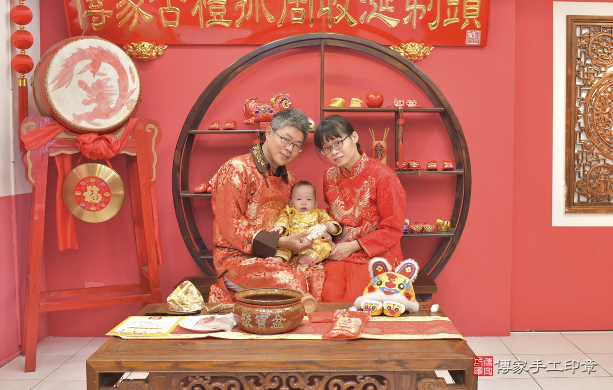 台中市北區白寶寶古禮收涎祝福活動。2020.12.19 照片12