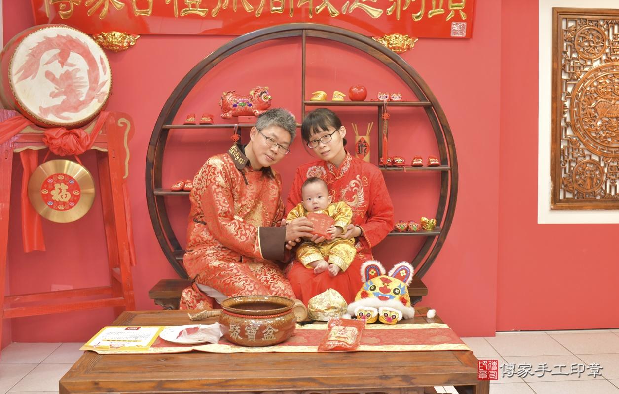 台中市北區白寶寶古禮收涎祝福活動。2020.12.19 照片10