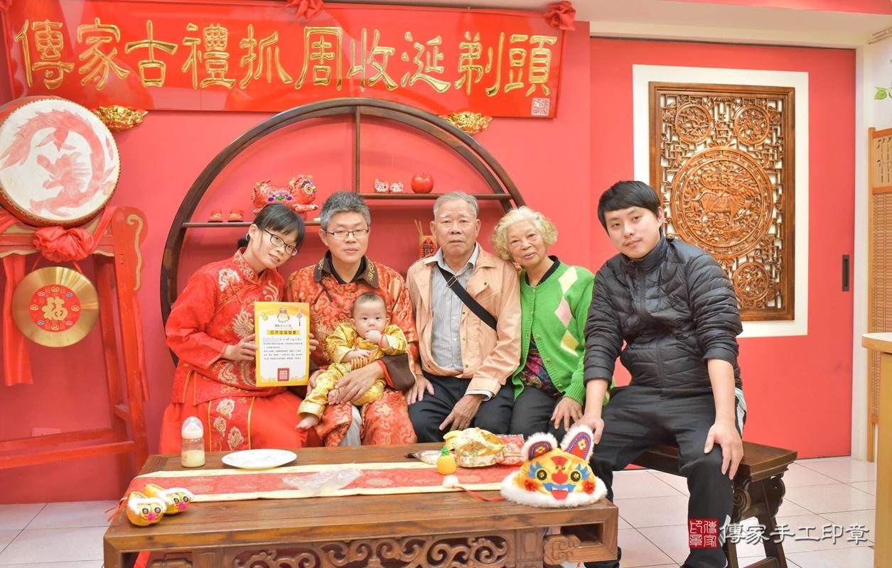 台中市北區白寶寶古禮收涎祝福活動。2020.12.19 照片3