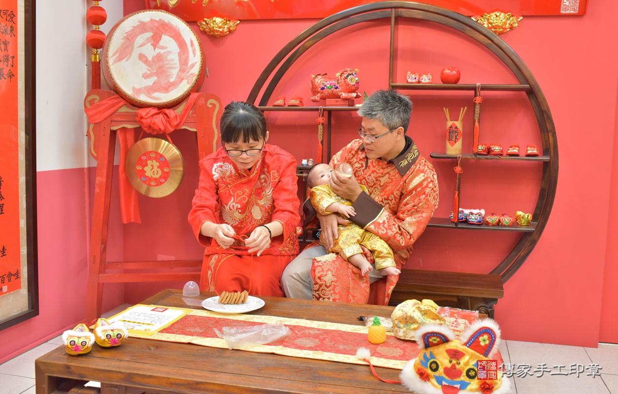 台中市北區白寶寶古禮收涎祝福活動。2020.12.19 照片17