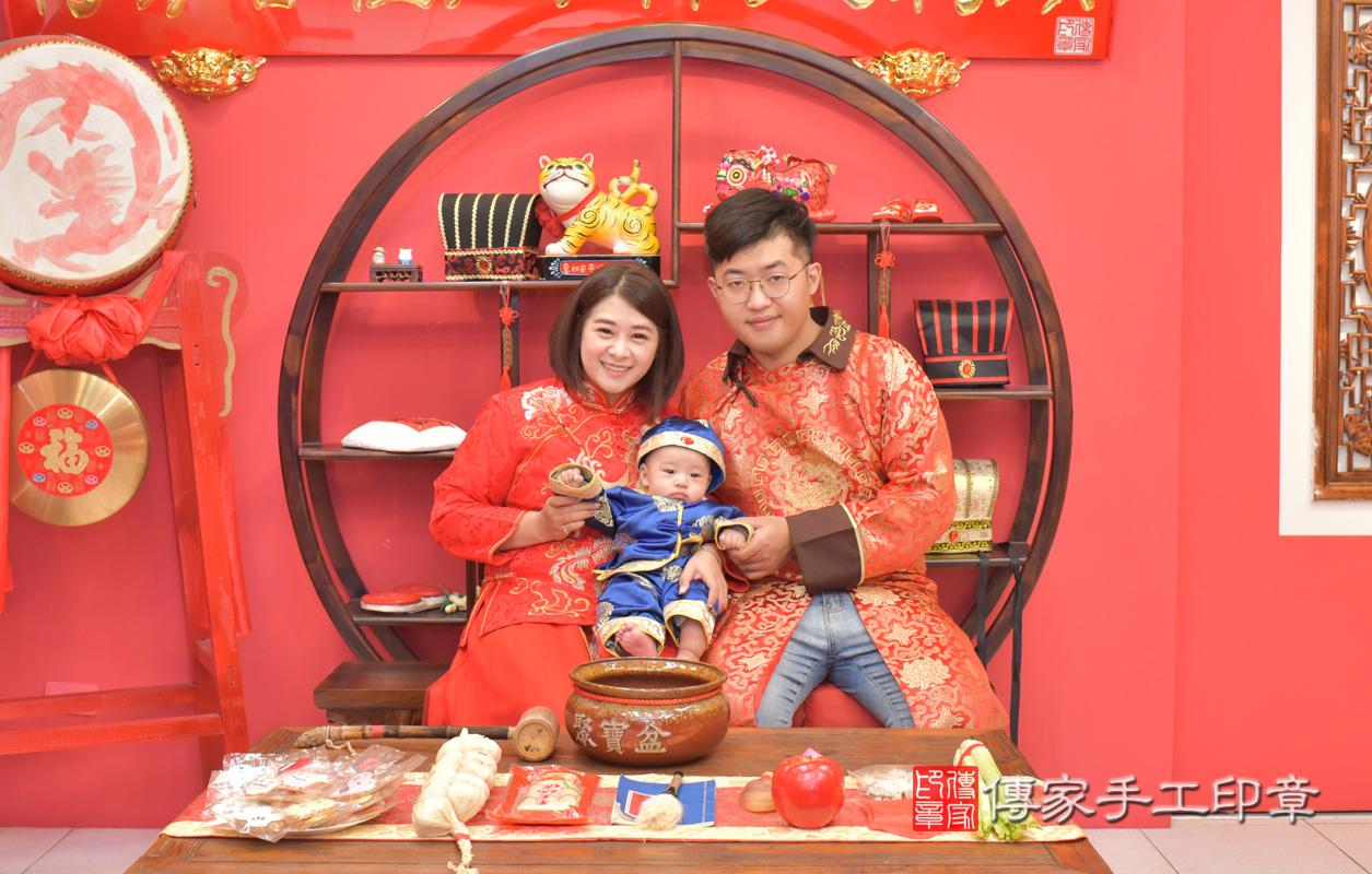 台中市北區楊寶寶收涎祝福活動:收涎合照1