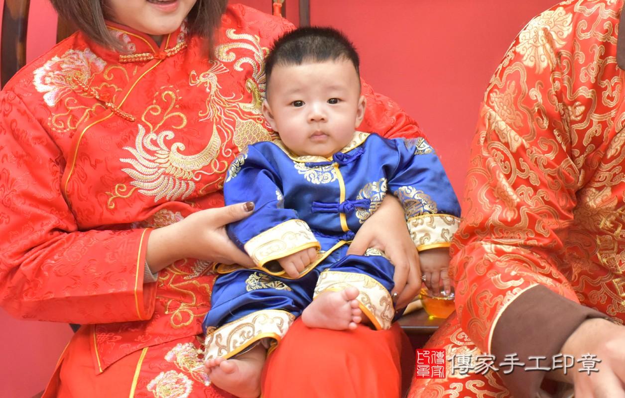 台中市北區楊寶寶古禮收涎祝福活動。四個月收涎活動和儀式,一切圓滿。照片2