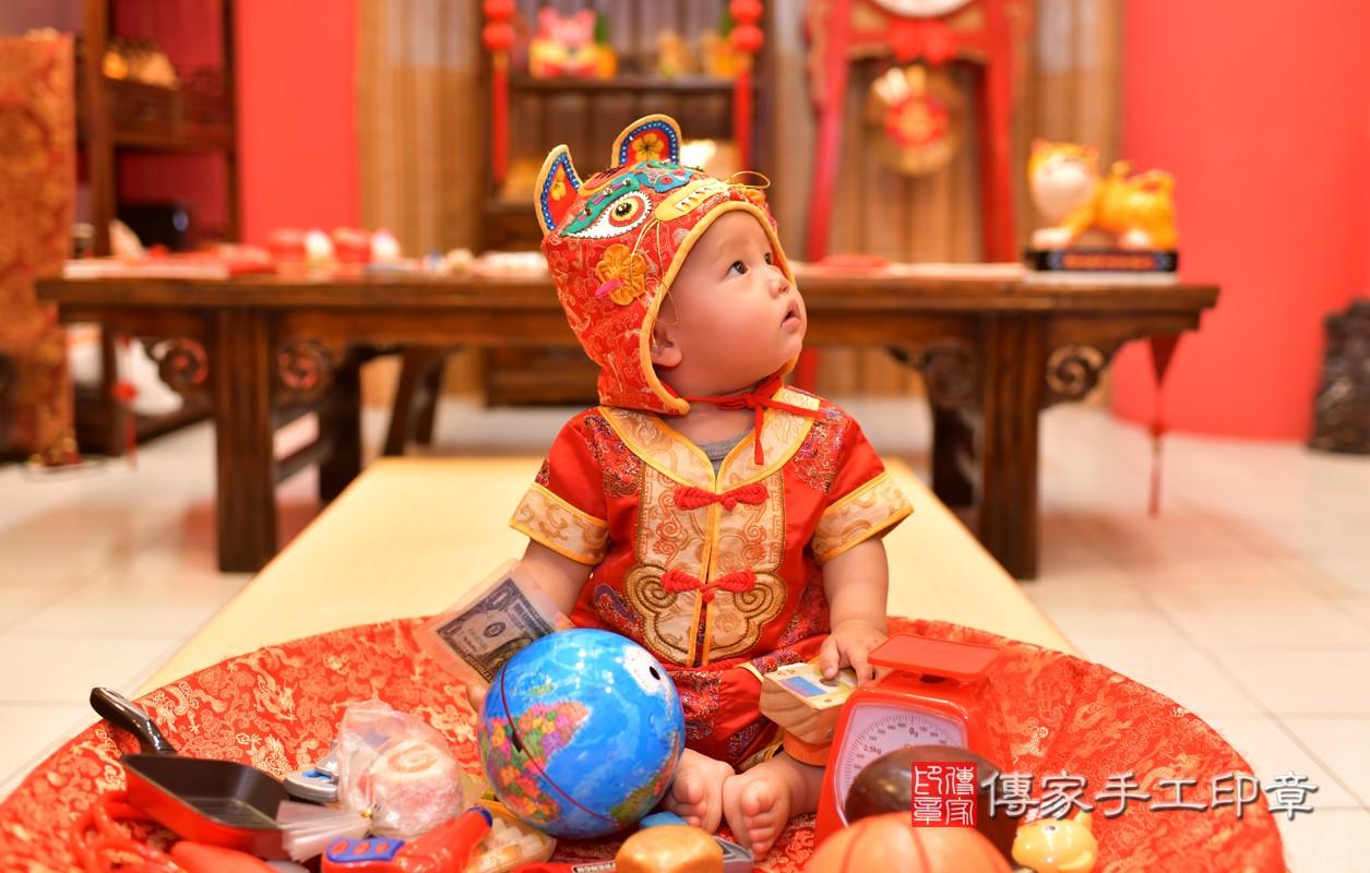 鳳山區陳寶寶古禮抓周:周歲抓周活動和儀式,一切圓滿。照片5