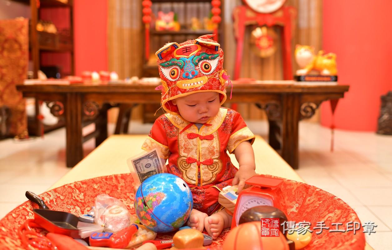 鳳山區陳寶寶古禮抓周:周歲抓周活動和儀式,一切圓滿。照片2