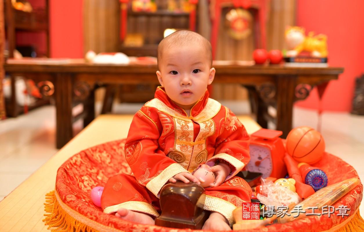 鳳山區洪寶寶古禮抓周:周歲抓周活動和儀式,一切圓滿。照片5