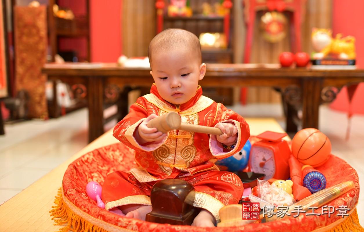 鳳山區洪寶寶古禮抓周:周歲抓周活動和儀式,一切圓滿。照片6