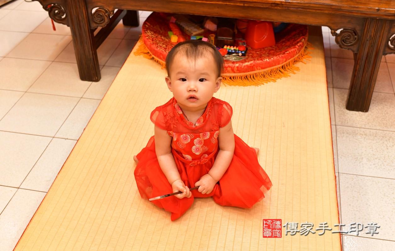 鳳山區莊寶寶古禮抓周:周歲抓周活動和儀式,一切圓滿。照片3
