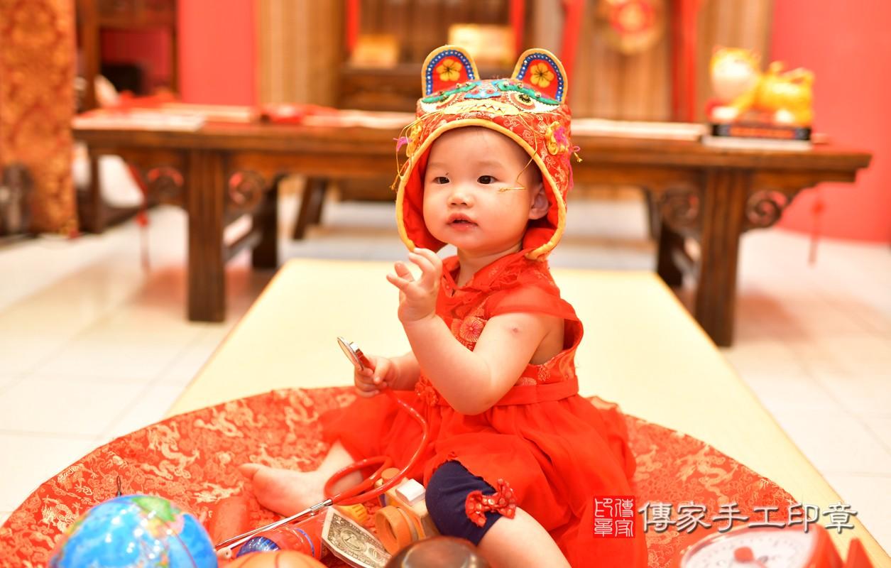 鳳山區莊寶寶古禮抓周:周歲抓周活動和儀式,一切圓滿。照片5
