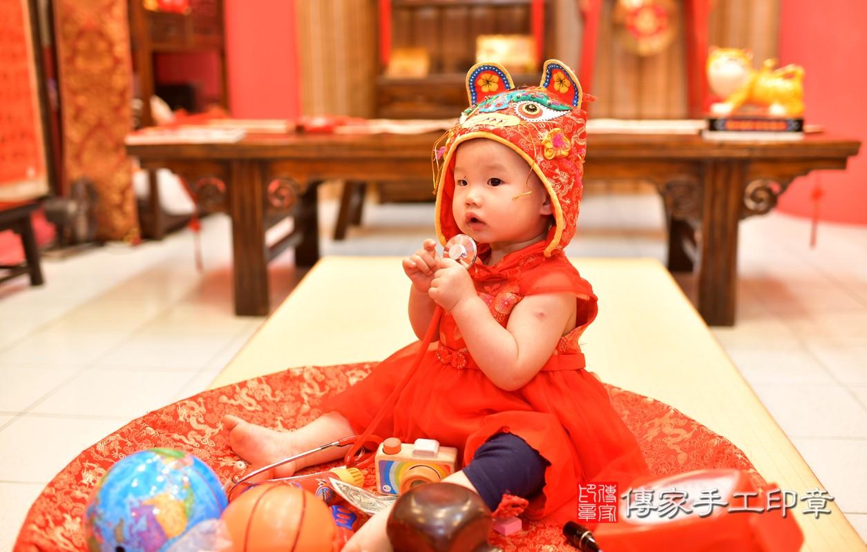 鳳山區莊寶寶古禮抓周:周歲抓周活動和儀式,一切圓滿。照片8