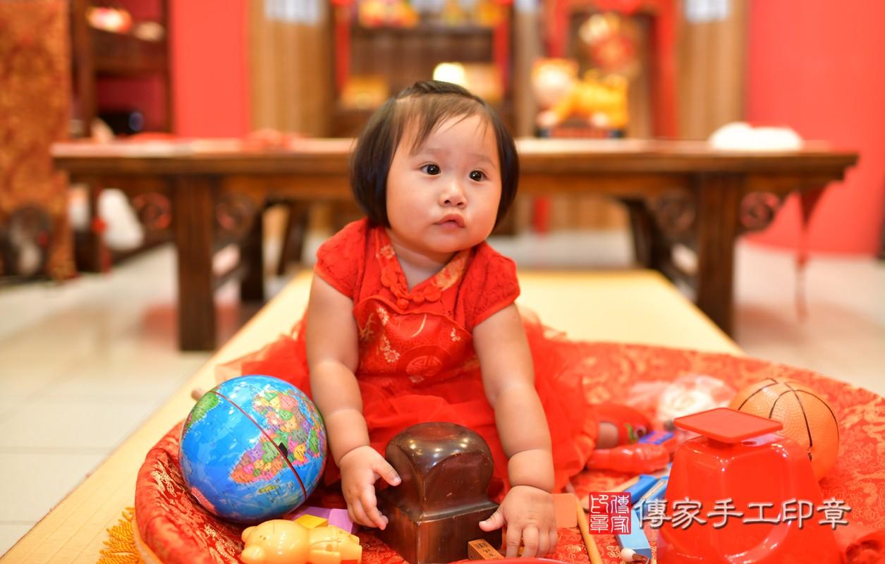 鳳山區陳寶寶古禮抓周:周歲抓周活動和儀式,一切圓滿。照片4