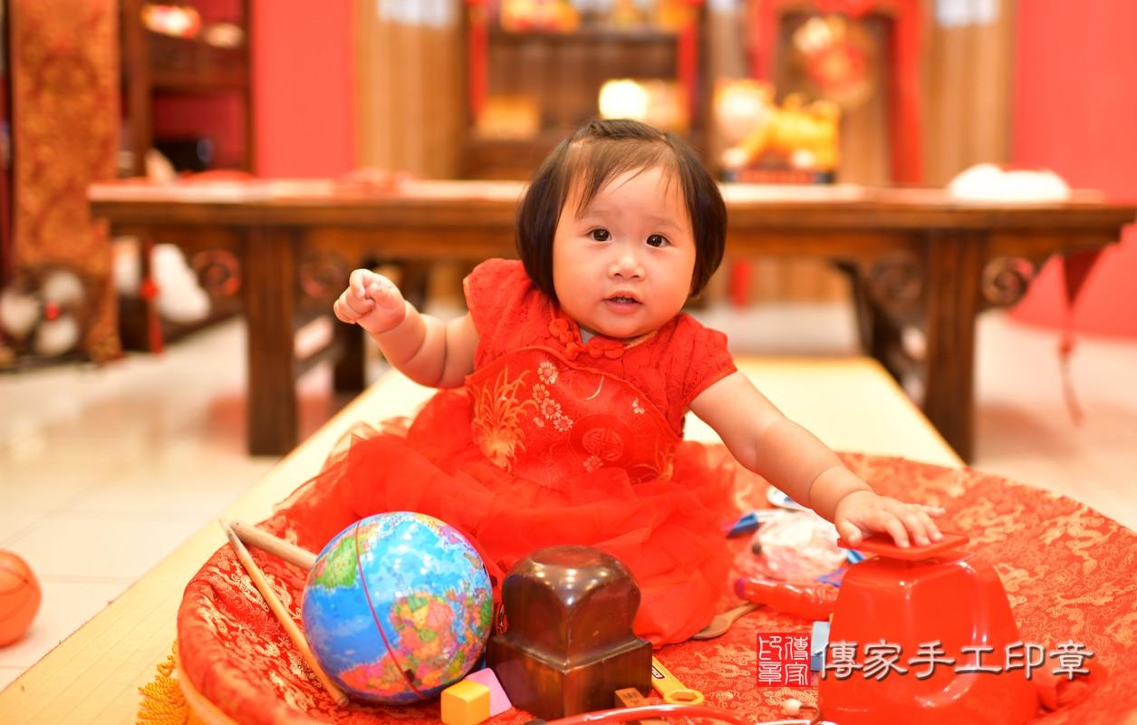 鳳山區陳寶寶古禮抓周:周歲抓周活動和儀式,一切圓滿。照片6