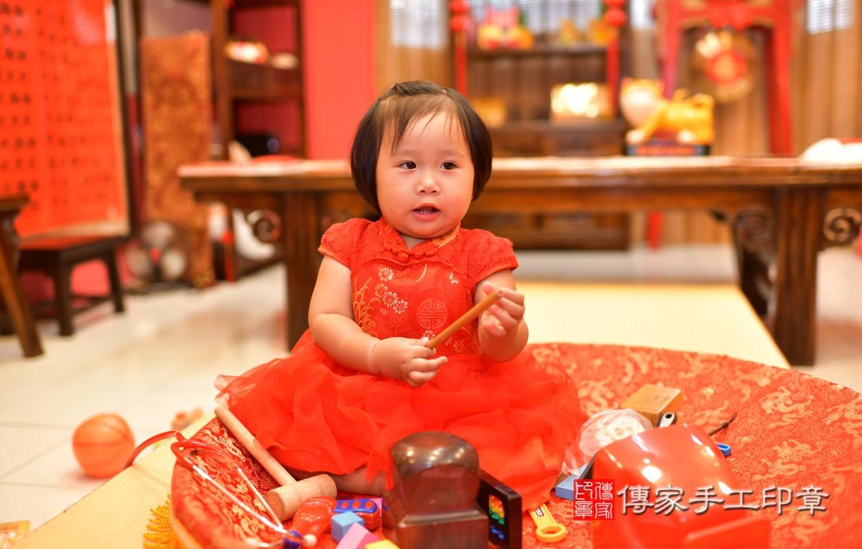 鳳山區陳寶寶古禮抓周:周歲抓周活動和儀式,一切圓滿。照片8