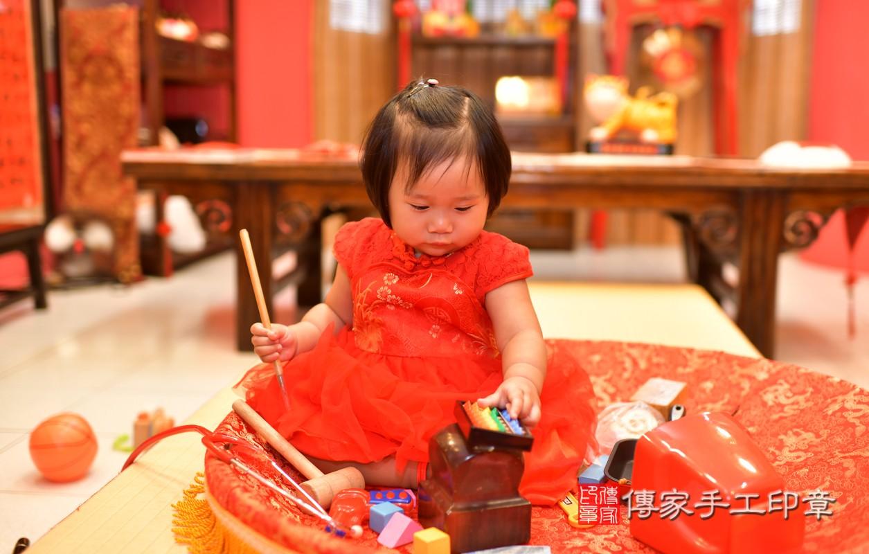 鳳山區陳寶寶古禮抓周:周歲抓周活動和儀式,一切圓滿。照片9