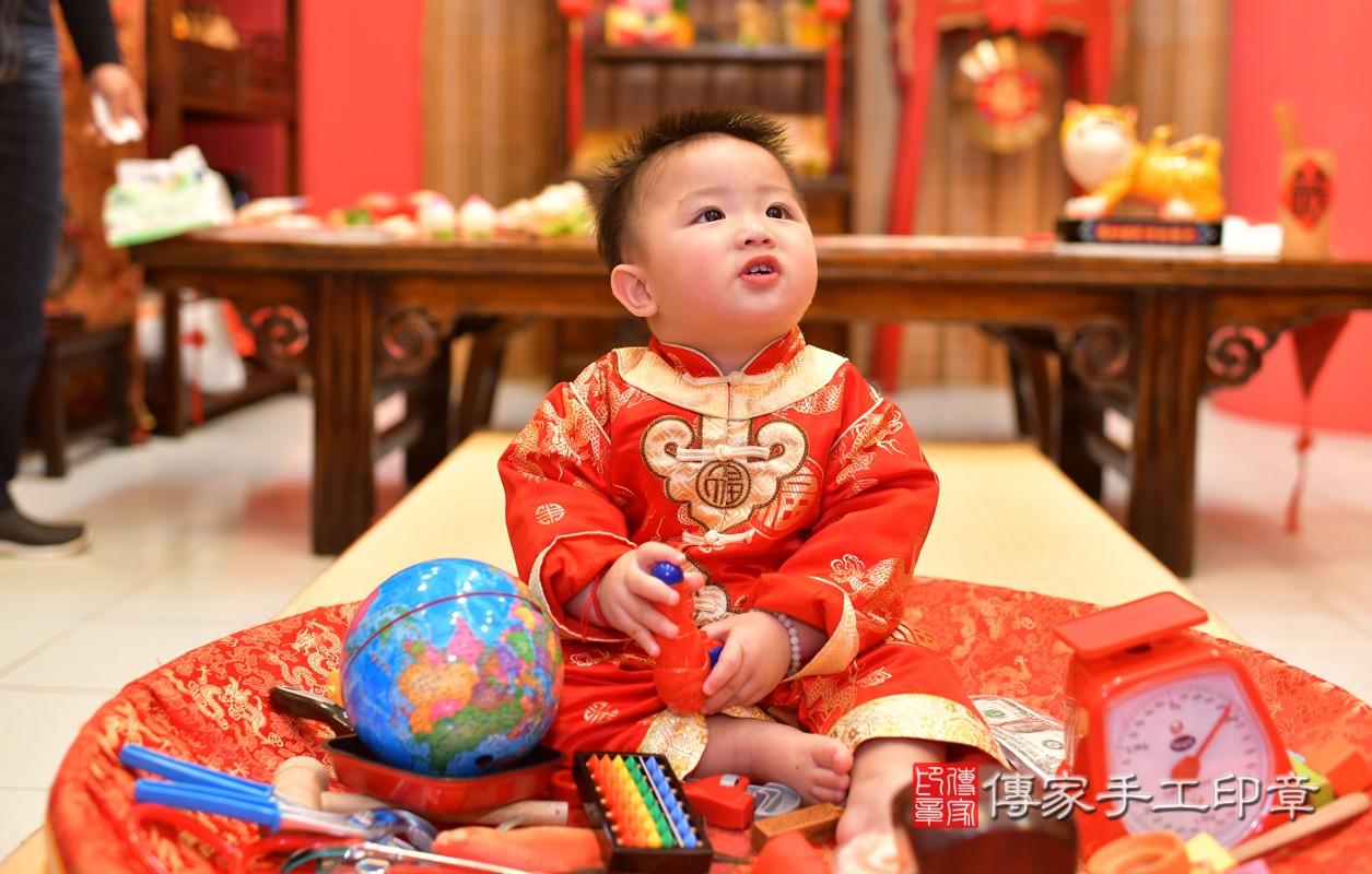 鳳山區陳寶寶古禮抓周:周歲抓周活動和儀式,一切圓滿。照片7