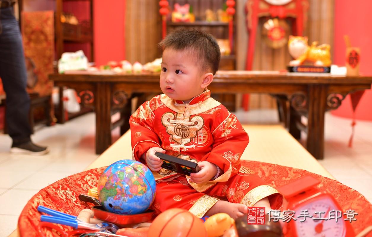 鳳山區陳寶寶古禮抓周:周歲抓周活動和儀式,一切圓滿。照片11