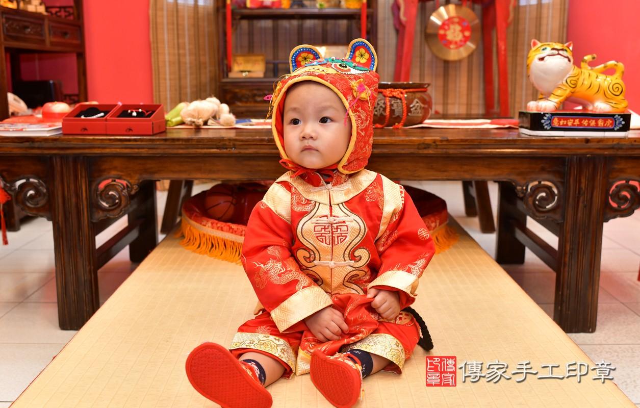 鳳山區林寶寶古禮抓周:周歲抓周活動和儀式,一切圓滿。照片2