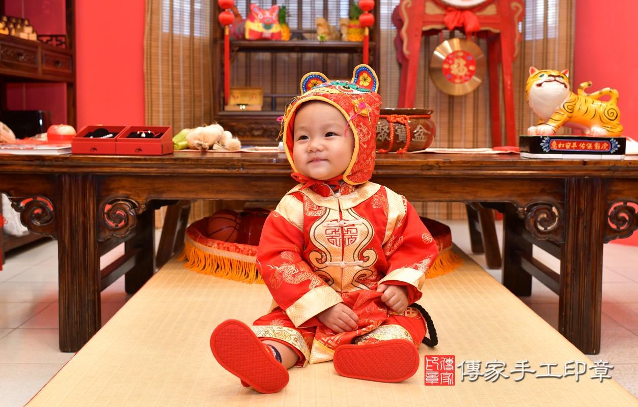 鳳山區林寶寶古禮抓周:周歲抓周活動和儀式,一切圓滿。照片3