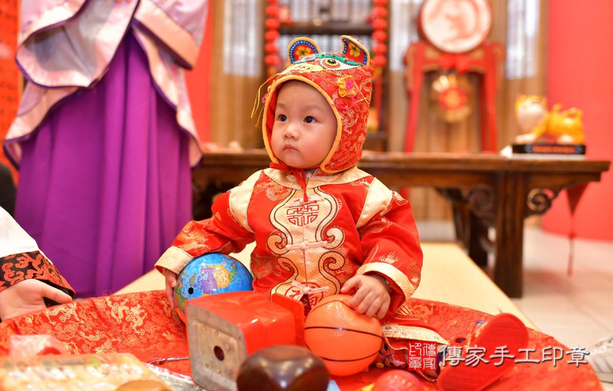 鳳山區林寶寶古禮抓周:周歲抓周活動和儀式,一切圓滿。照片1