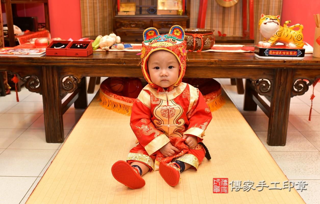 鳳山區林寶寶古禮抓周:周歲抓周活動和儀式,一切圓滿。照片4